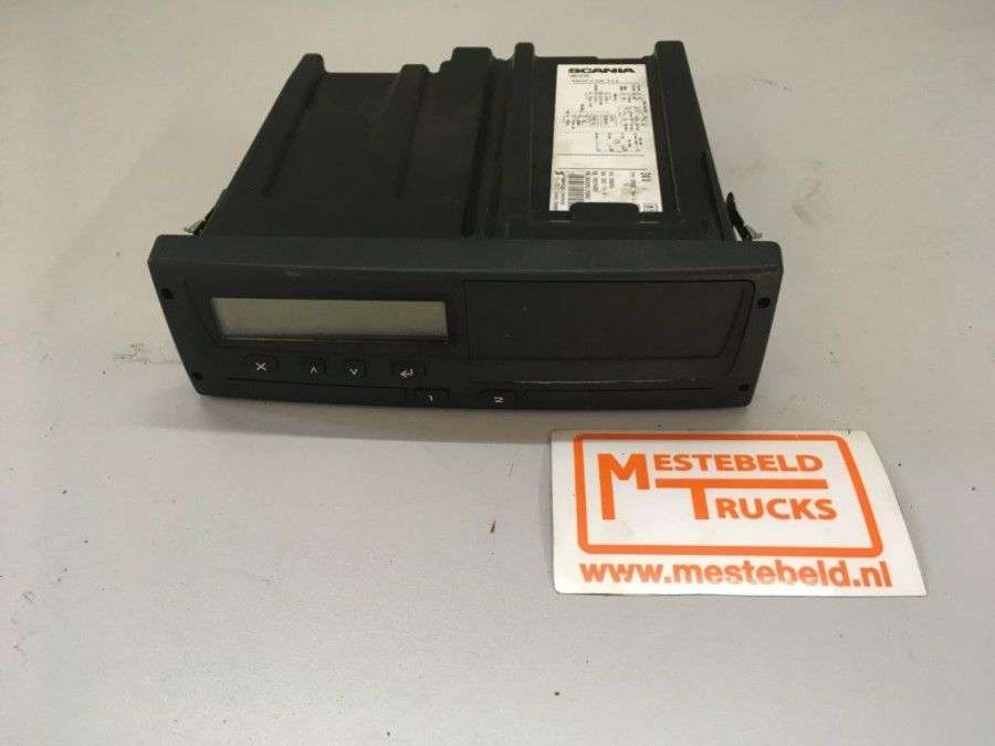 Scania Ecu Tco Tachograph For Truck - 2007