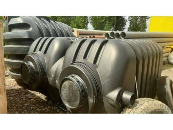 septic tank pvc 5000 litres tanker  for sale by auction