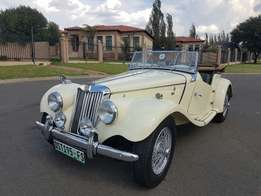 1954 MG TF in immaculate condition