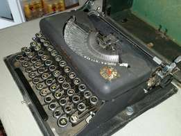 Imperial 1936 portable type writer