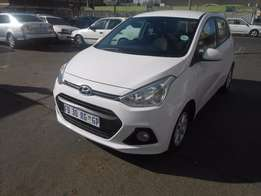 Hyundai i10 grand 2016 model white in colour 5000km R120000 manual
