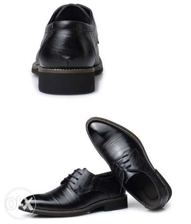 Men's leather cover shoe Gwarinpa Estate - image 1