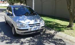 HYUNDAI GETZ 1.6 HS 2006. Excellent Condition,Clean Interior.Spare Key