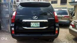 Neatly used LEXUS GX460, 2012 model accident free Lagos cleared