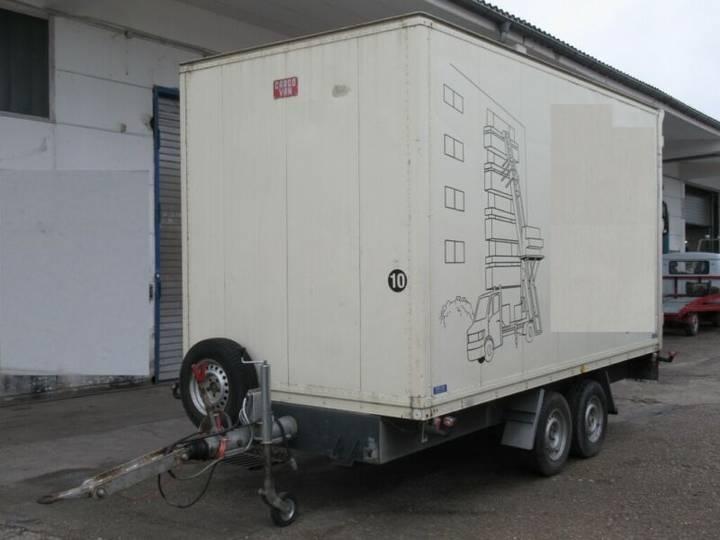 Tandem zbinden sensa 085c3 4,2m koffer portaltür - 1995