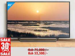 offer! Sony 40 inches smart TV