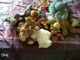 kids stuffed animals an toys