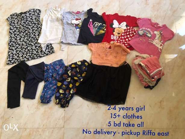 2-4 years girls clothes