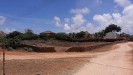 Malindi near cashorina road 3/4acrea for sale , this is a Conner plot