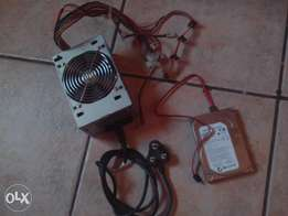 300watt Powersupply & 320gig harddrive