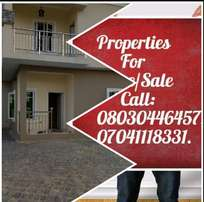 A 700sq fenced and gated plot of land at Thomas Estate