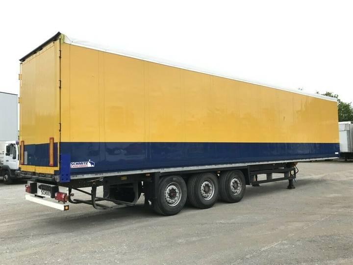 Schmitz Cargobull 3 Achs Kofferauflieger SKO 24 Hecktüren + Doppel - 2010