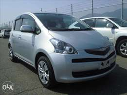 Toyota Ractis Year 2010 Model Automatic Silver Color KCN At 820K