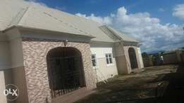 A 3unit of three bedroom flat with a bq for sale at nyanya FCT