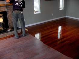Professional Wooden Floor Restoration Services (Sanding & Sealing)