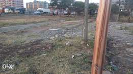 1 and quarter acre on Thika super highway with title deed