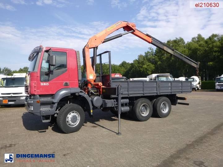 Iveco Trakker 380 6x6 + Palfinger PK15500A - 2008