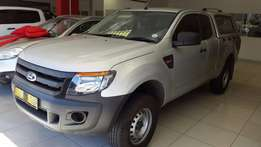 2014 Ford Ranger 2.2 Super-Cab XL Only 66000km