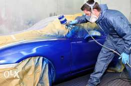 High qualified and Car painting garage along thika superhighway