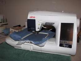Sewing-Embroidering Machine Elna