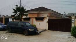 New Exquisite 3bedroom bungalow in Abraham Adesanya Estate for sale