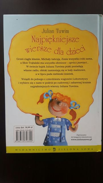 Wiersze Dla Dzieci Julian Tuwim Sieradz Olxpl