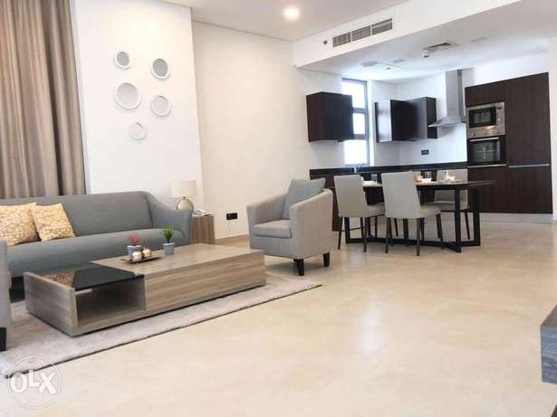 Cozy, modern 2BR furnished apartment for rent in juffair +balcony