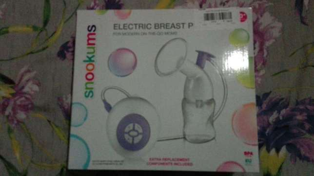 Snookums electronic breast pump with bottle Mobeni - image 1