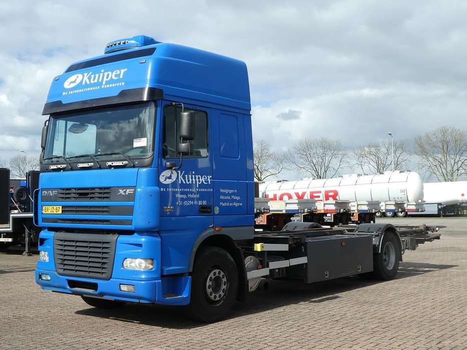 DAF XF 95.380 ssc manual nl truck - 2005