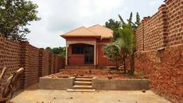 2bedrooms house for sale in ndejje plot 100 by 40ft at 57 millions