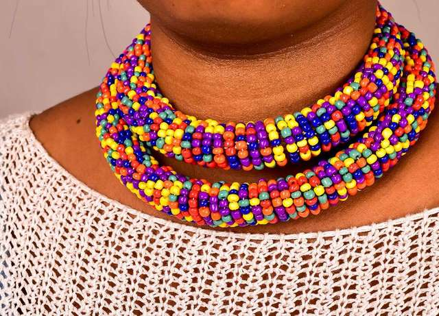 Beaded Rope Necklace at Wholesale Price City Centre - image 8