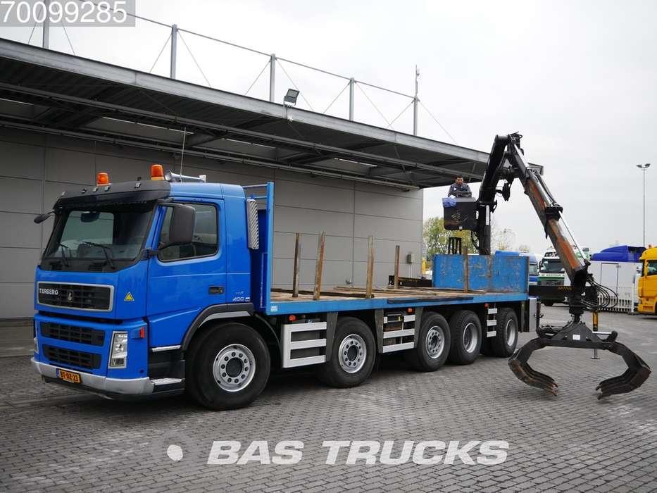 Volvo FM2850 10X4 Terberg WS Euro 5 Hiab 200-2 - 2007
