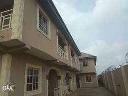 Spacious 2bedroom flat 200k with 2 toilets and 3 balcony at Igando.