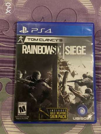 Rainbow six siege for ps4/ps5