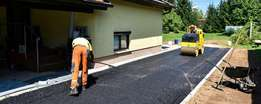 Rubble Removal and tar surfacing