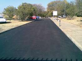 Tar surfacing, Paving and Tennis courts