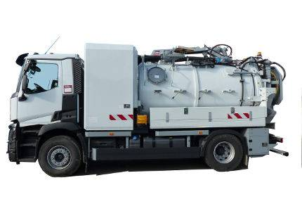 New combination sewer cleaner - 2018