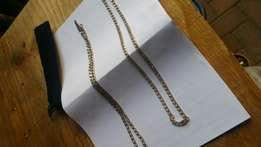 Mens genuine silver chains