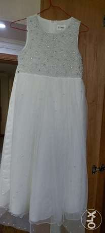 White party wear dress for girls