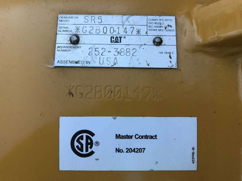 Caterpillar 3516B - 2.250 kVA Generator - DPX-25031 - 2014 - image 15