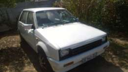 "Daihatsu Charade for sale ""as is""."