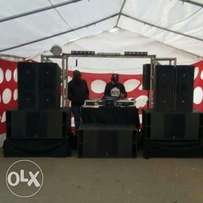 professional dj sound system for hire