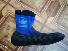 Dolphin swimming boots for sale for keeping kids