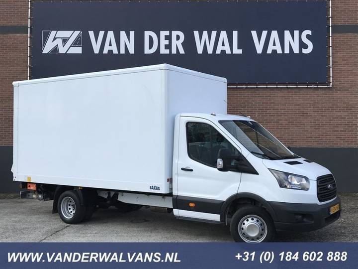 Ford Transit 2.0TDCI 130pk Euro6 Bakwagen + Laadklep; 2017 Airco, - 2017