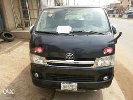 Registered Toyota Hiace (Converted) - 2014
