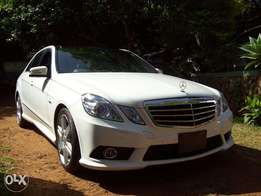 2010 Mercedes Benz E250 Blue efficiency, auto 2.5L petrol, New import