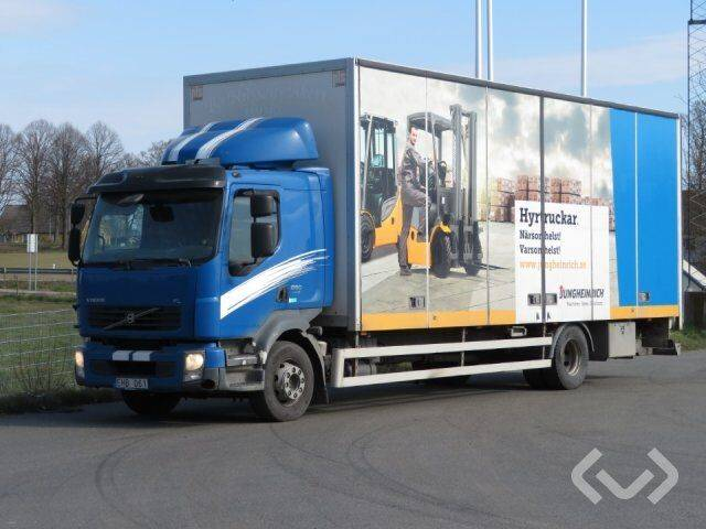 Volvo FL280 4x2 Box (side doors + tail lift) - 09 - 2009