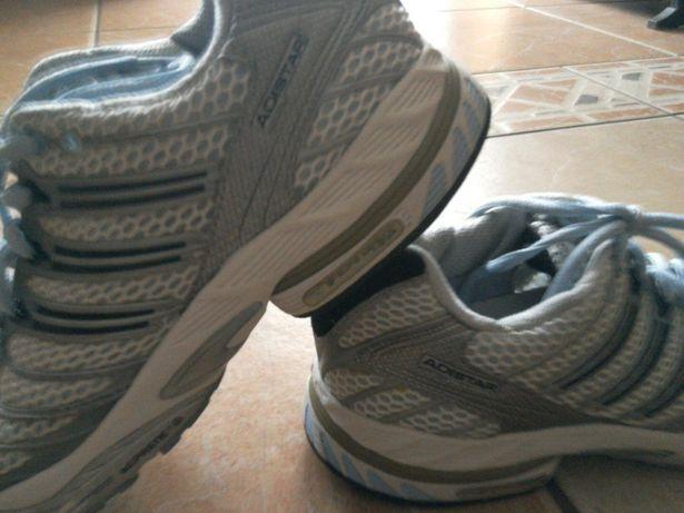 Buty Adidas Running AdiStar kontroli W Echoczerń