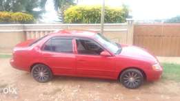 Toyota corolla wine in complexion with very good engine