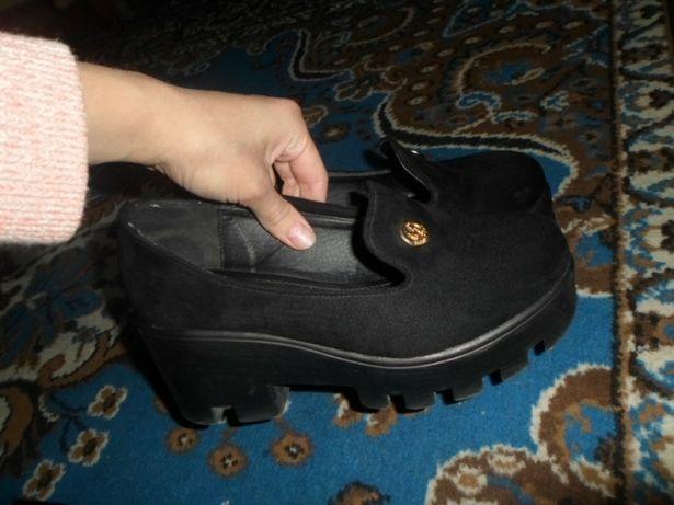 Туфли туфлі балетки на тракторній підошві тракторной подошве Брошнев -  изображение 1 f736851e2e7e7